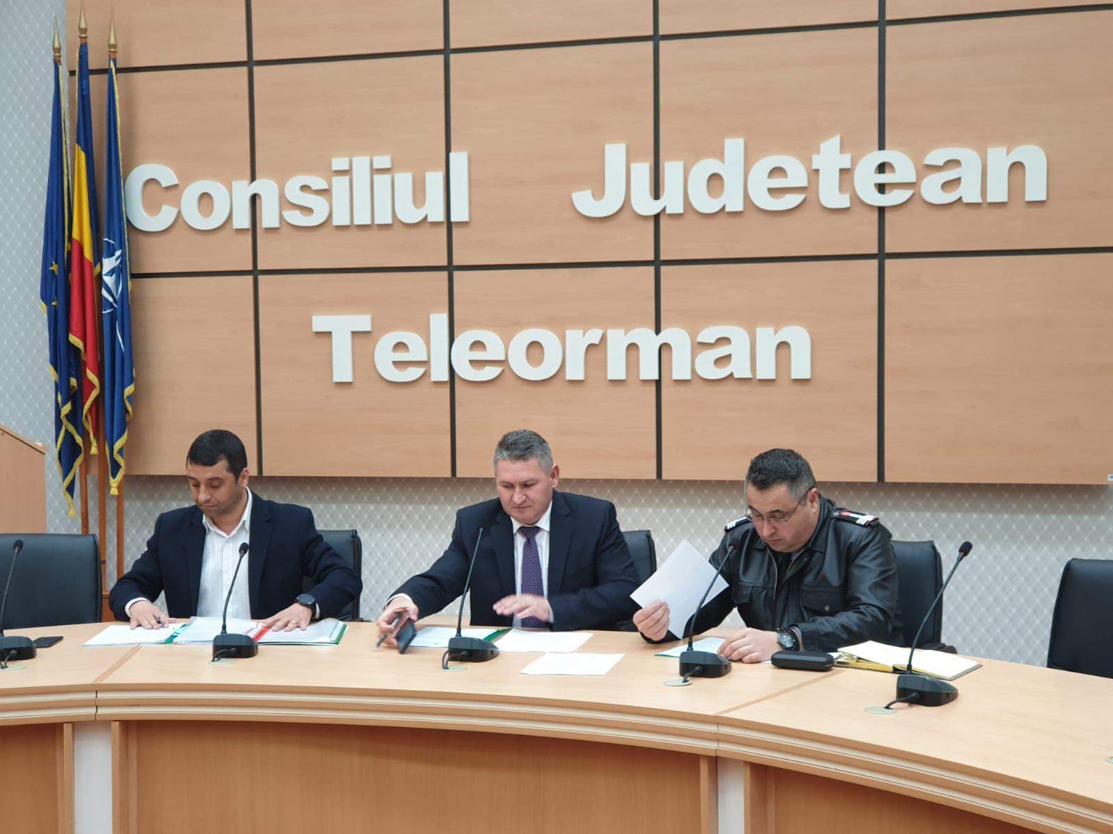 Teleorman, sub Cod Portocaliu de fenomene METEO periculoase ! Alerta a activat Comitetul Județean pentru Situații de Urgență