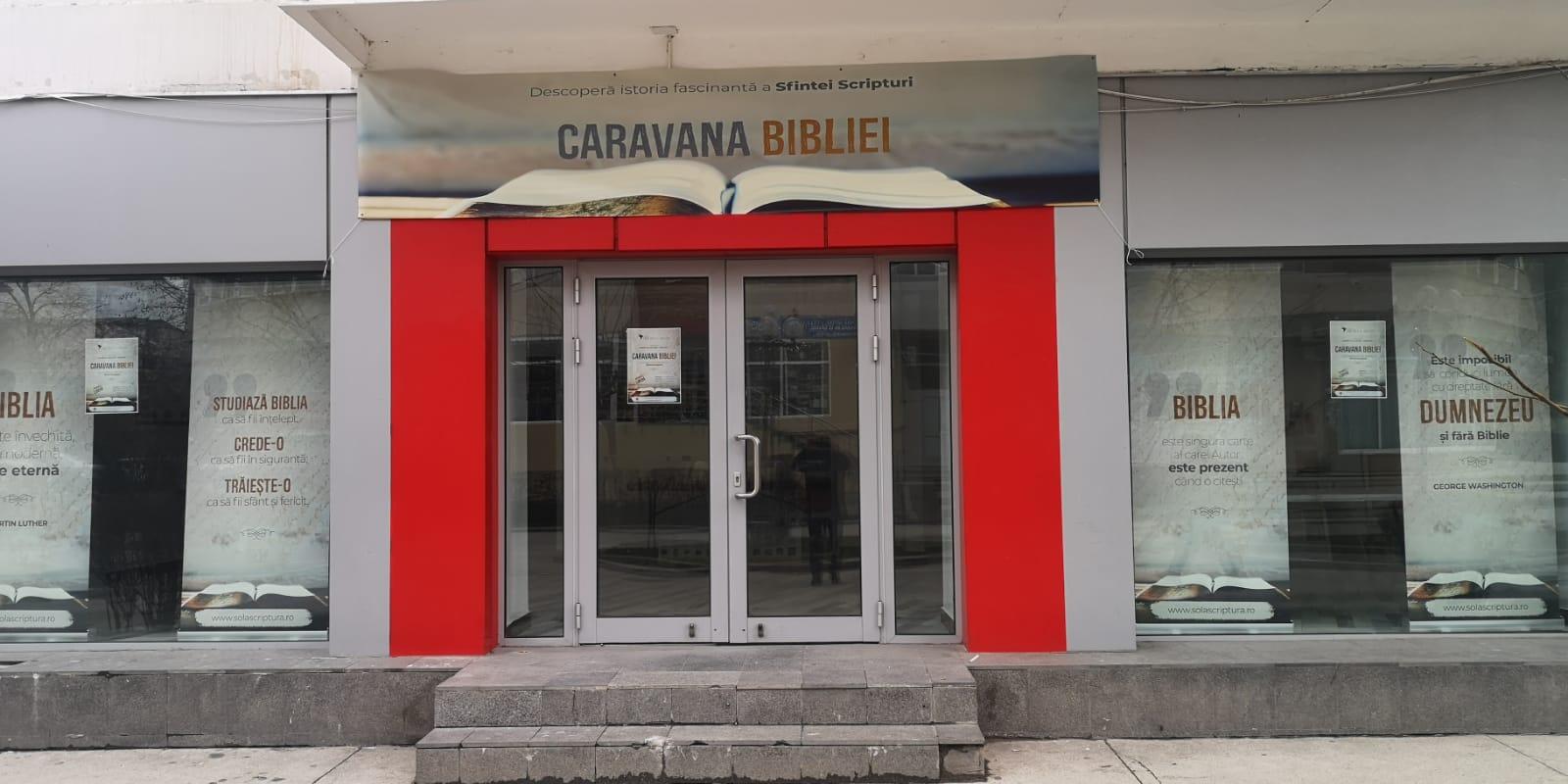 """""""Caravana Bibliei"""", un proiect cultural-educativ, organizat de către Asociația Conștiință și Libertate"""