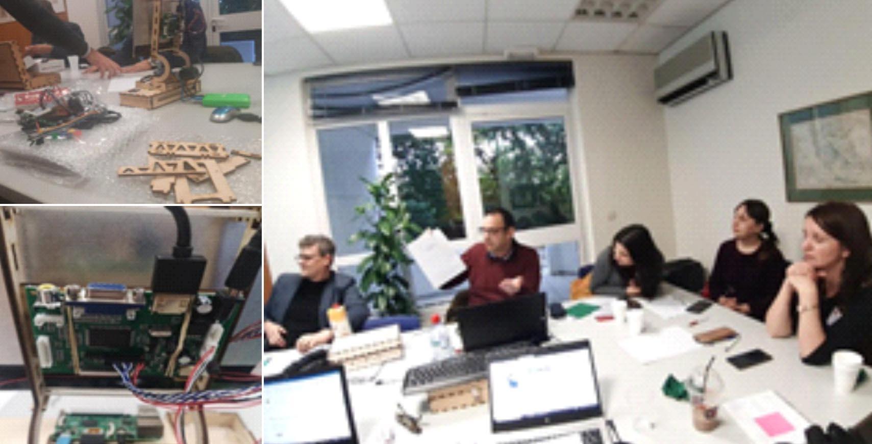 """""""RETROSTEM"""", proiect Erasmus+ la Colegiul Naţional Pedagogic """"Mircea Scarlat"""" din Alexandria"""