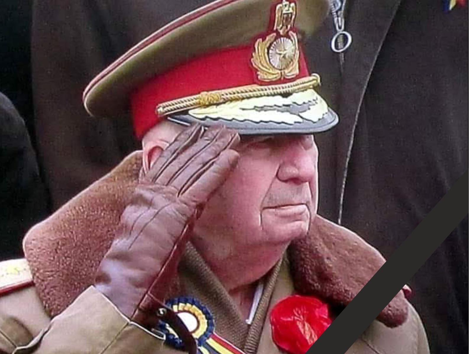 Armata Română, în doliu! Rezerviştii militari teleormăneni deplâng moartea generalului Marin Dragnea